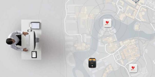 Lifelink Central – Σύστημα παρακολούθησης Αυτόματων Απινιδωτών